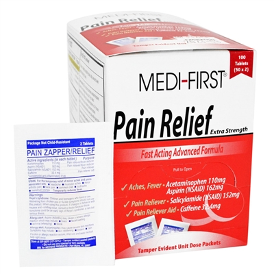 Extra Strength Pain Relief - 100-Pack