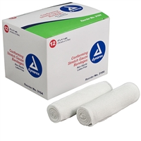 "Stretch Gauze Roll - 4"" x 4.1 Yd. - 12-Pack"