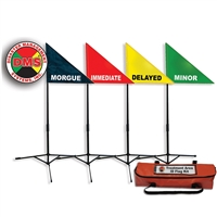 Treatment Area Flag Kit 4 Pack