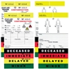 Triage Tags 50 Pack