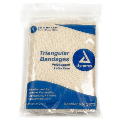 "Triangular Bandages 36"" - Each"
