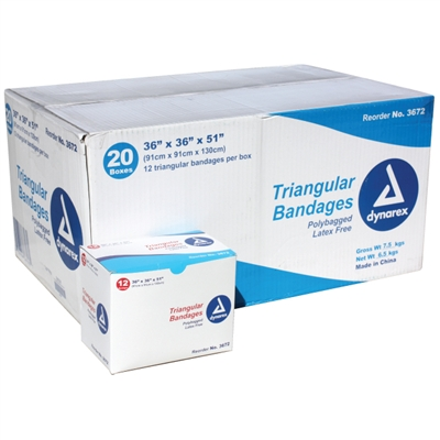 "Triangular Bandage 36"" - 240 Pack"