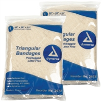 "Triangular Bandages 36"" - 12-Pack"
