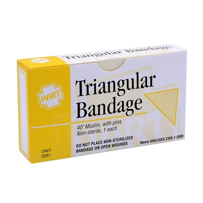Certi-Gauze Triangular Bandage - Each