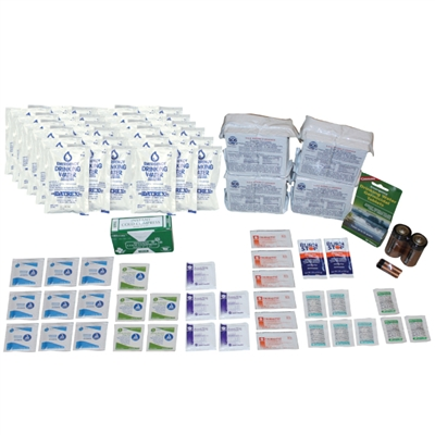 4-Person Emergency Survival Kit Refill