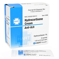 Hydrocortisone Cream 1% - 25-Pack