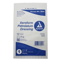 "Xeroform Gauze Dressing 5"" x 9"""