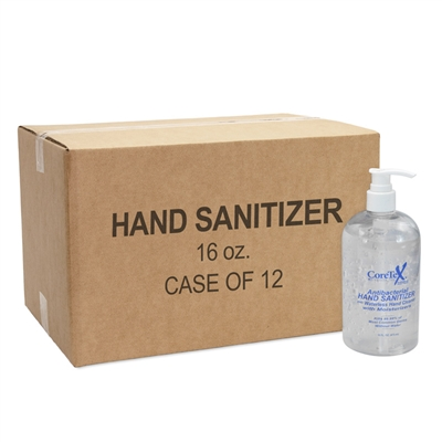 Coretex Antibacterial Hand Sanitizer - 16 oz w/ Pump