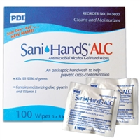 Sani-Hands Instant Hand Sanitizing Wipes - 100-Pack