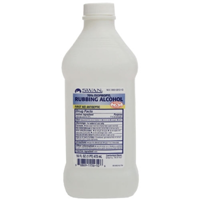 Rubbing Alcohol - 16 oz.