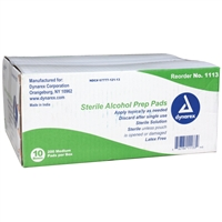 Alcohol Prep Pads - Case