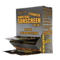 Industrial Strength Sunscreen - 100 Foil Pack Box