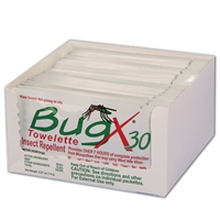 Bug X Insect Repellent Towelette 25 Pack