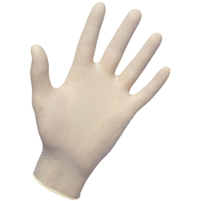 Latex Exam Gloves - Large
