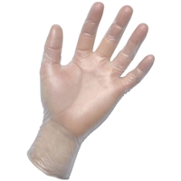 Vinyl Exam Gloves Large 100 Pack