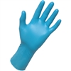 Blue Nitrile Exam Gloves - Large