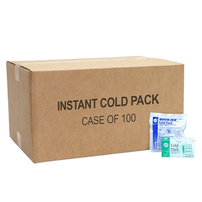 Instant Cold Pack 100 Pack