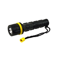 Dorcy Rubber LED Flashlight AA
