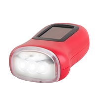 Solar Dynamo Emergency Flashlight