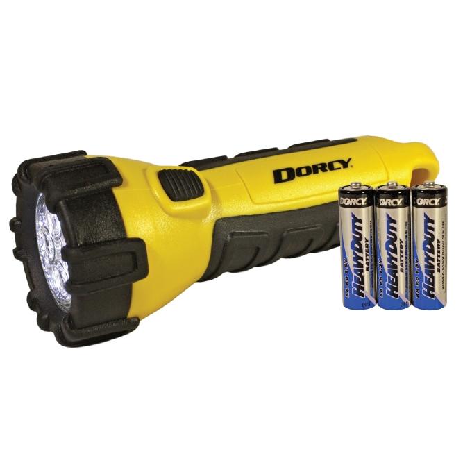 Dorcy Waterproof LED Flashlight