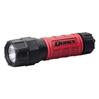 LED H/D Flashlight with Batteries