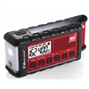 Emergency Crank Radio with Flashlight, USB Charger & Weather Alert