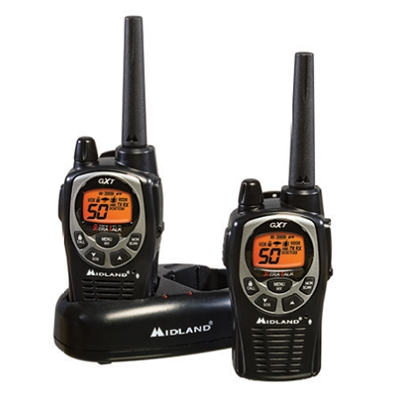 GMRS 50 Channel Radios - 2-Pack Set GTX1000VP4