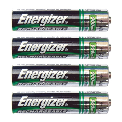 Energizer AAA Rechargeable Batteries - 4-Pack