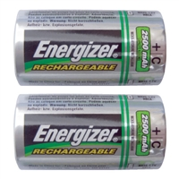 Energizer C Rechargeable Batteries - 2-Pack