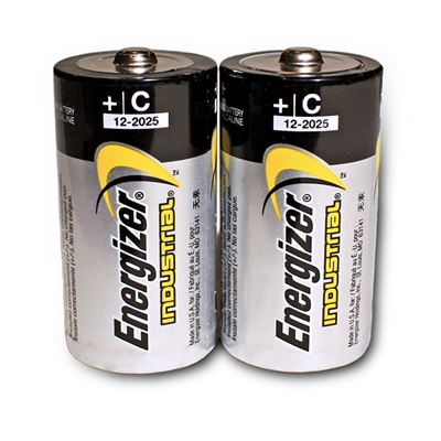 Energizer C Alkaline Batteries - 2-Pack