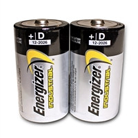 Energizer D Alkaline Batteries - 2-Pack