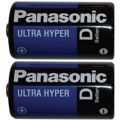 D Batteries - 2-Pack