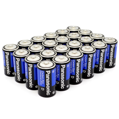 D Batteries - 24-Pack