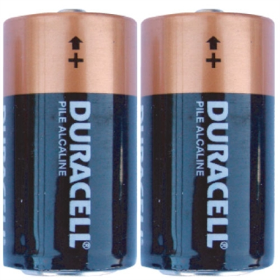 Duracell D Alkaline Batteries - 2-Pack