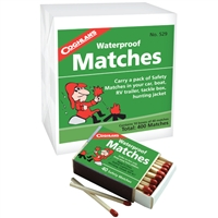 Waterproof Matches - 10-Pack