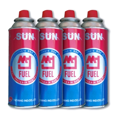 Butane Fuel - 4-Pack