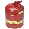 Red Steel Safety Gas Can