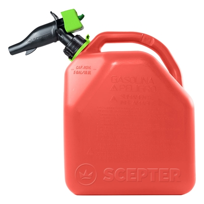Poly Gas Can 5 Gallon Capacity