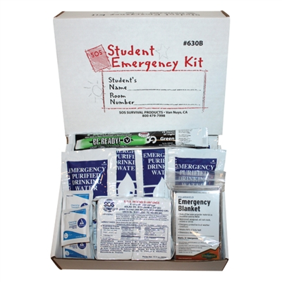 Student Emergency Kit in Box