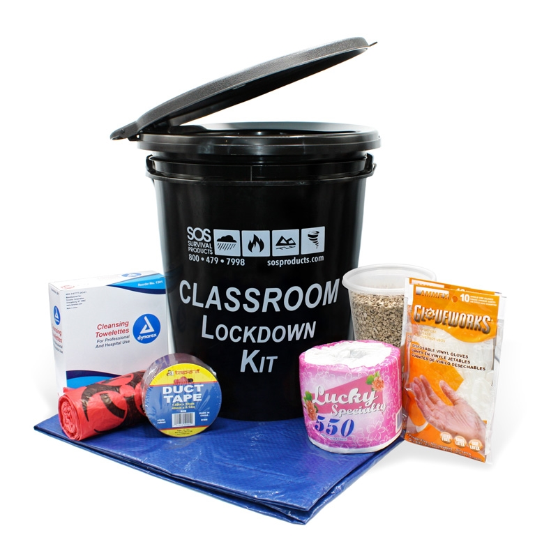Classroom Lockdown Kit Emergency Kit For Schools