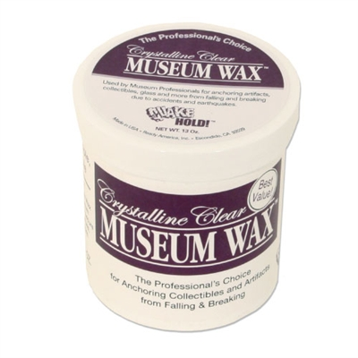Crystalline Clear Museum Wax - 13 oz Jar