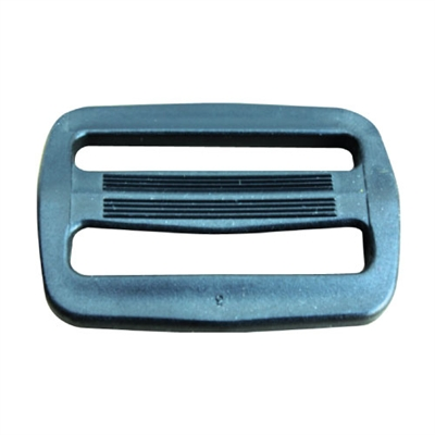 "Slide Lock Buckle - 1 1/2"" Black"