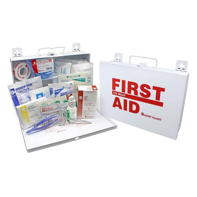 First Aid Kit 25 - Metal