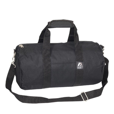 16 in Round Duffel Bag - Black