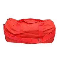 Round Duffel Bag - Red
