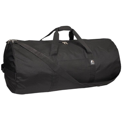 36 in Round Duffel Bag - Black