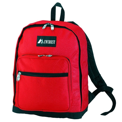 Backpack with Organizer - Red