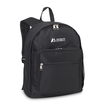 Backpack with Organizer - Black