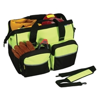 Hi Visibility Lime Deluxe Gear Bag