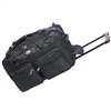 30 in Wheeled Duffel Bag - Black